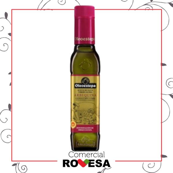 Aceite Oliva Virgen Extra Arbequina Oleoestepa botella 250ml