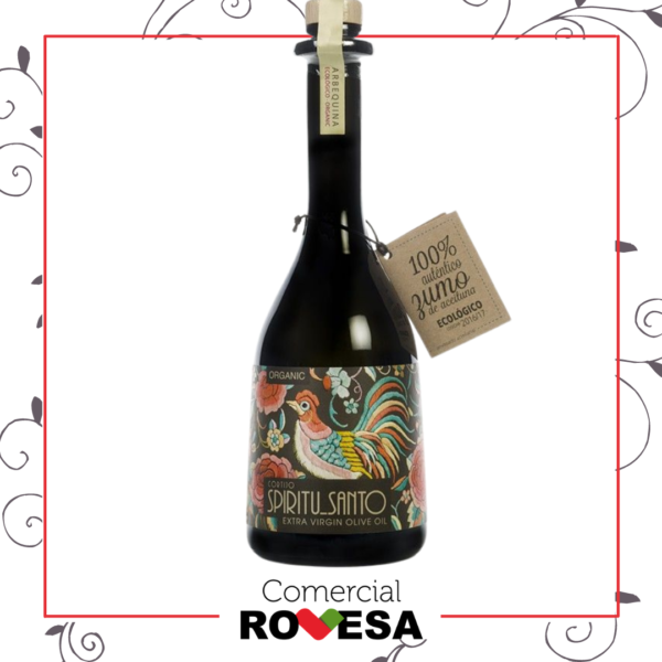 Aceite Oliva Virgen Extra Arbequina Espíritu Santo botella 500ml